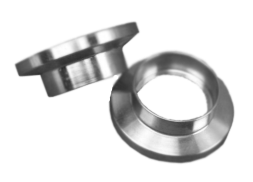 "NW16 Socket Weld Flange .751 ID 304 Stainless Steel Accepts 3/4"" Tubing"