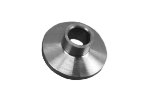 "NW16 Weld Stub,Flange 1/2"" OD 304 Stainless Steel Accepts 1/2"" Tubing"