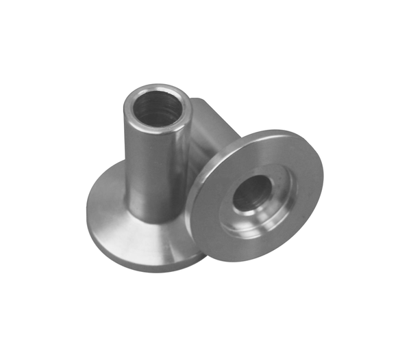 "NW40 X .500"" Hose Fitting 304 Stainless Steel (1/2"" OD) - Chemtech Scientific"