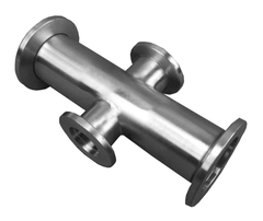 NW16 X NW16 X NW25 X NW25 304 Stainless Steel Adaptive Cross 304 Stainless Steel - Chemtech Scientific