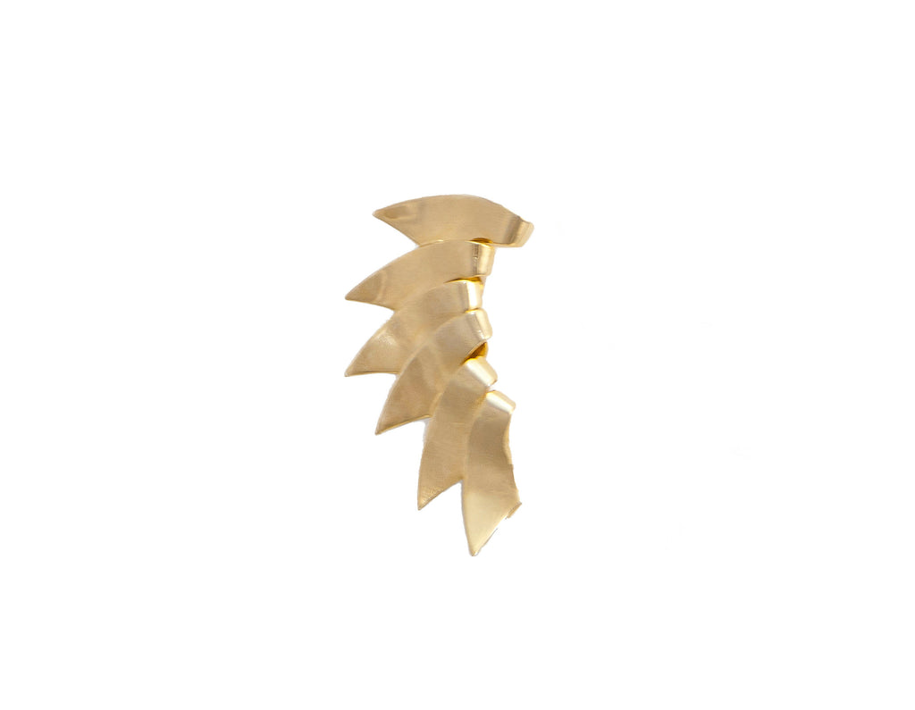 14kt plated gold ear cuff