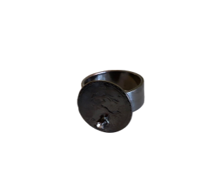 Aquarius Ring in gunmetal