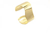 14 kt gold plated cuff