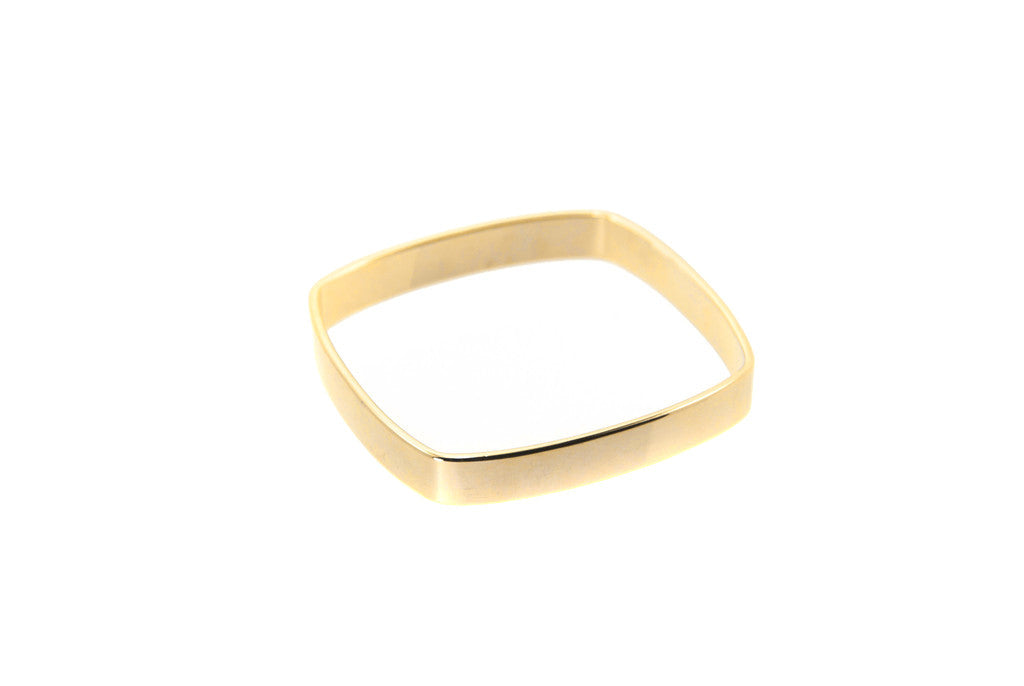 14 kt gold plated bangle