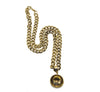 14 kt gold pendant necklace