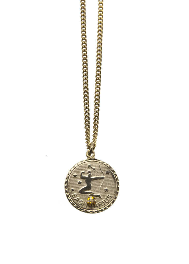 Zodiac Sign Necklace Sagitarius