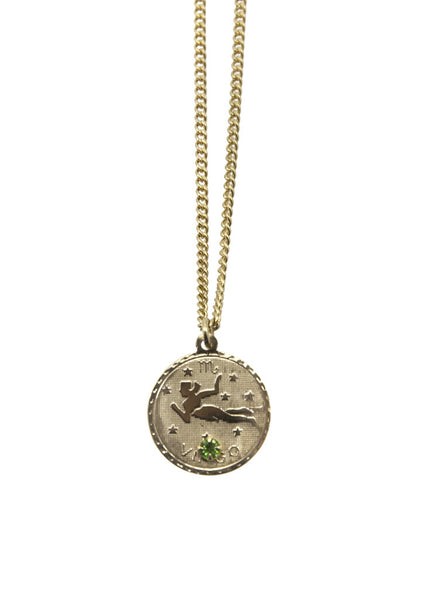 Zodiac Sign Necklace Virgo