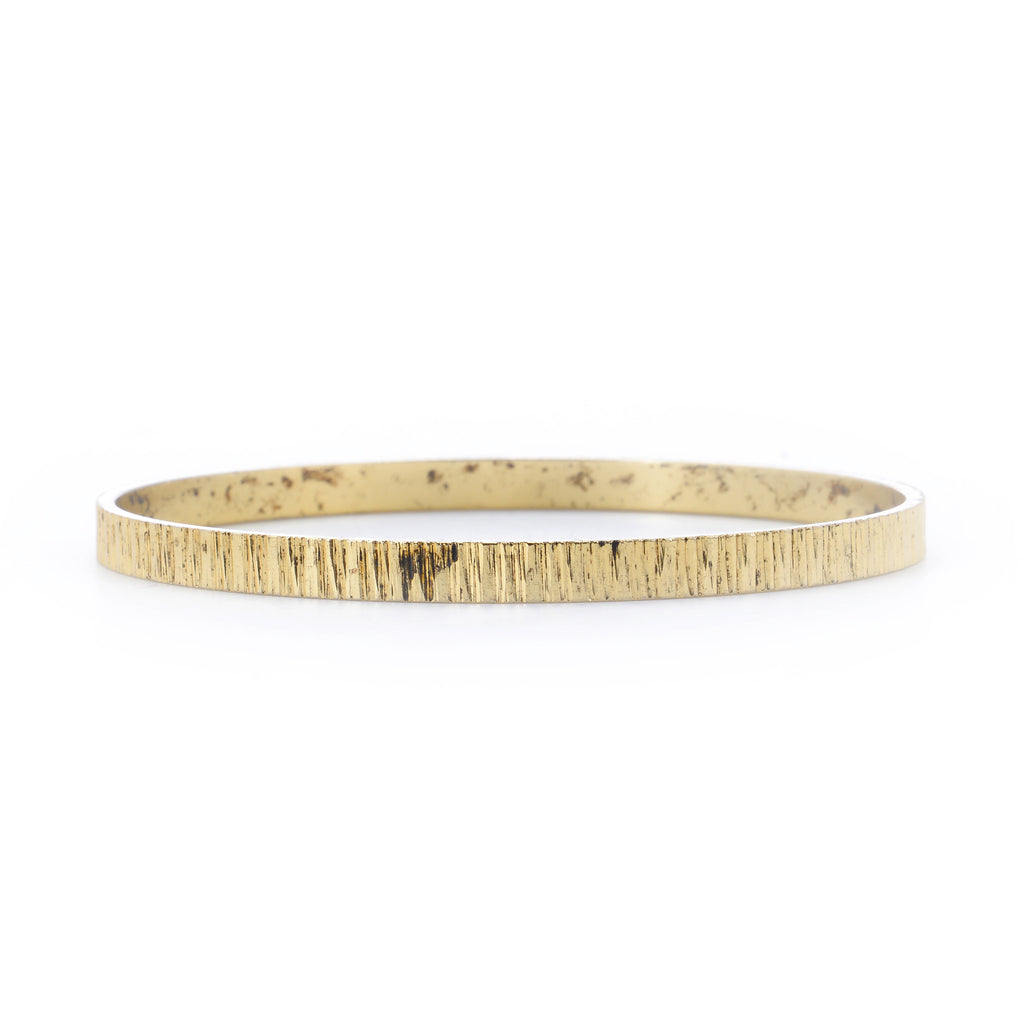 14k gold plated bangle