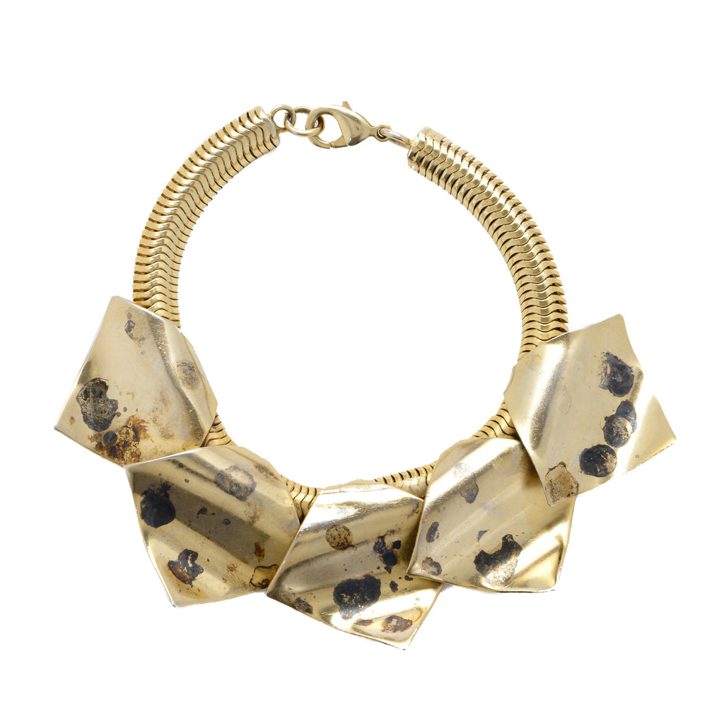 Statement acids bracelet