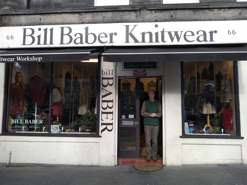 Meet the maker - Bill Baber Knitwear