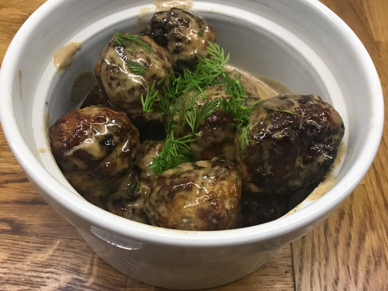 Recipe: Pheasant Swedish meatballs