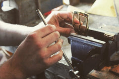 Making of J Boult Designs Countryman's Belt