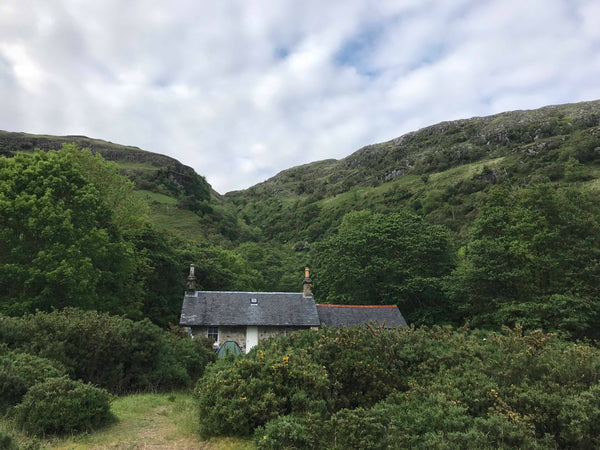 Bothy scottish highlands wilderness scotland