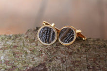 Load image into Gallery viewer, Gold Plated Antler Cufflinks - J Boult Designs