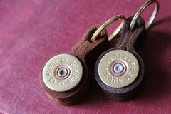 Shotgun cartridge key rings