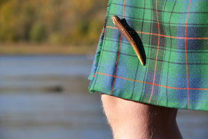 Red Deer Antler Kilt Pin - J Boult Designs