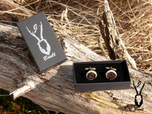 Load image into Gallery viewer, Antler Cufflinks - J Boult Designs