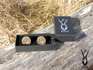 Shotgun Cartridge Cufflinks - J Boult Designs
