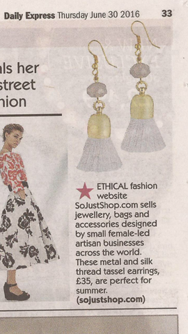 So Just Shop Nat Earrings Daily Express