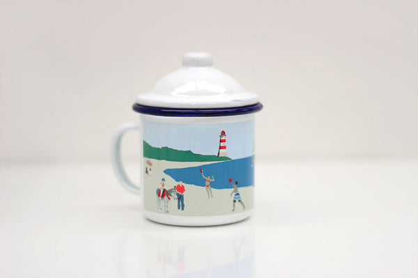 Weekend Explorer: Beach Enamel Mug