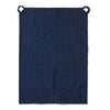 Navy Dotted Line Tea Towel