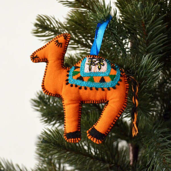 Camel Christmas Tree Decoration