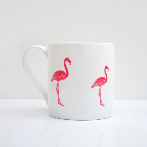 Flamingo Bone China Mug