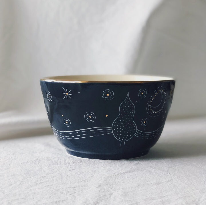 Starry Night Bowl