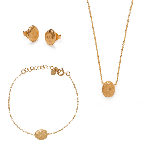 Jaya Complete Jewellery Set - Gold