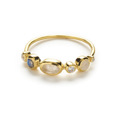 Aahna Ring - Gold
