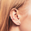 Triad Earrings - Silver