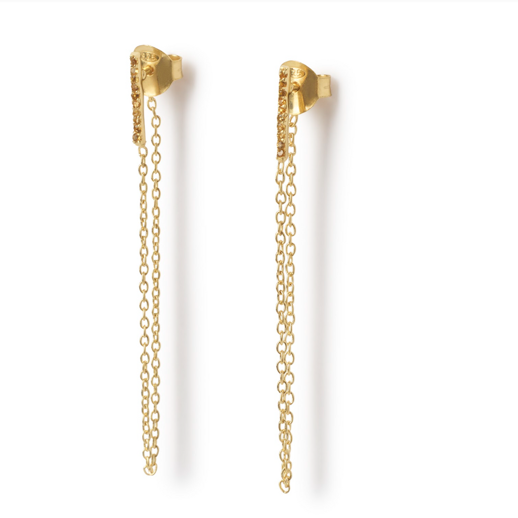 Amoli Earrings - Gold