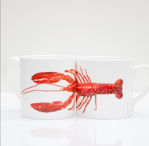 Lobster Bone China Mug