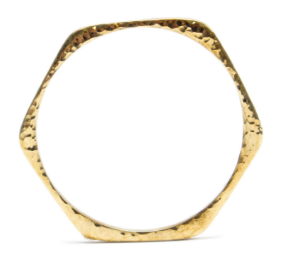 Signature Honeycomb Bangle