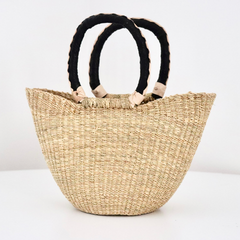 Small U Shopper - Natural