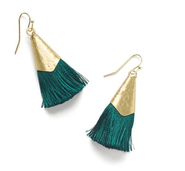 Kiara Earrings - Green