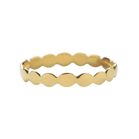 Praniti Dotted Ring - Gold