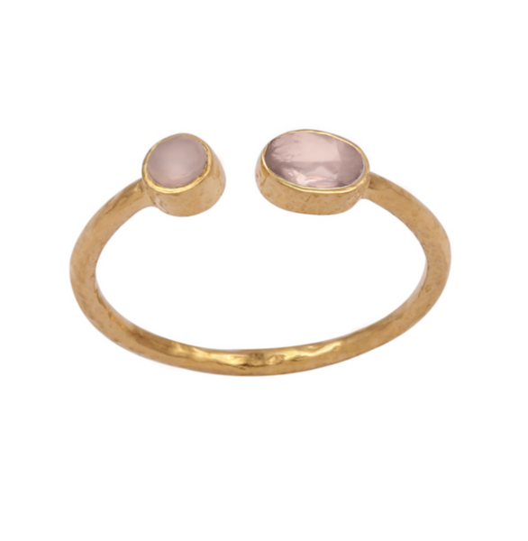 Pooja Open Ring - Gold