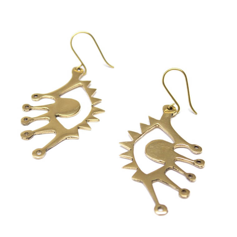Eye Hook Earrings
