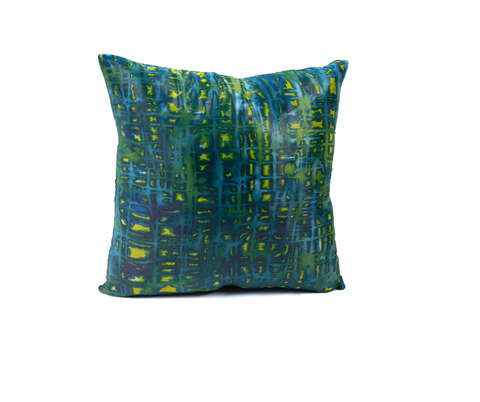 Shades of Green Cushion