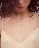 Asha Hamsa Necklace - Gold