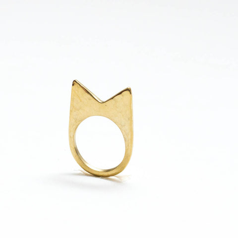 Mamba Textured Ring
