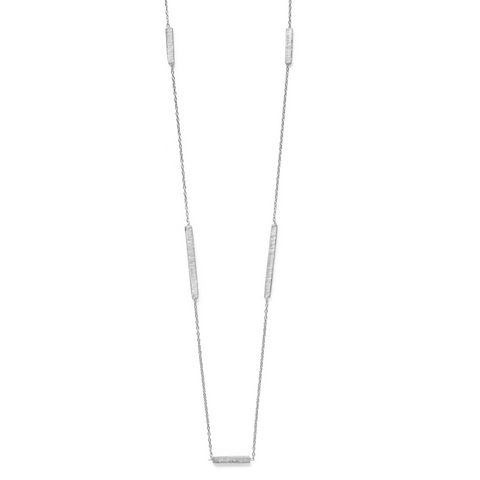 Madhu Necklace - Silver