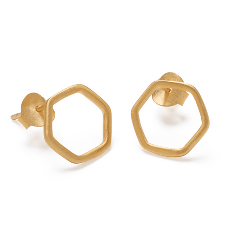Naina Earrings - Gold