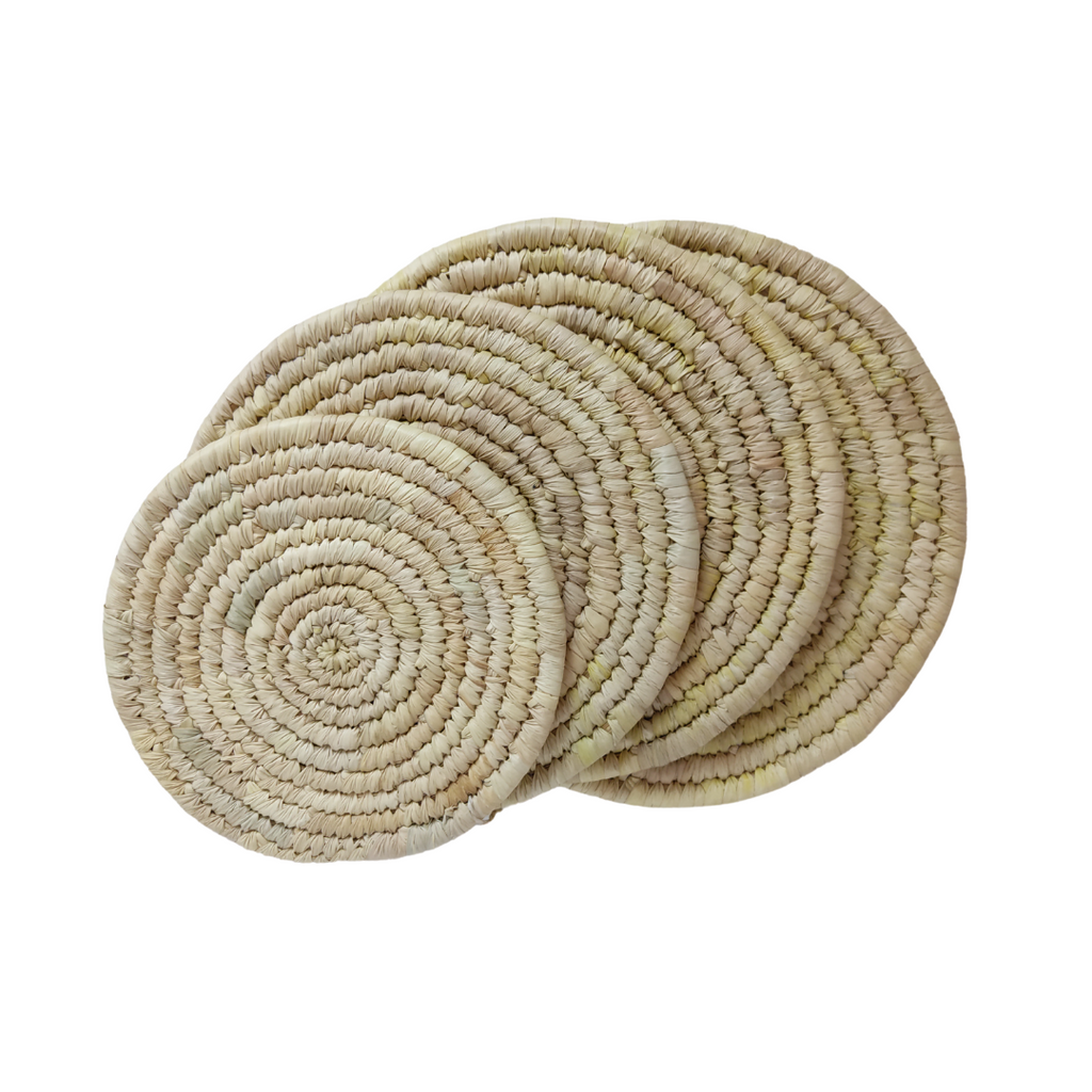 Table Mat Set of 4 (round)