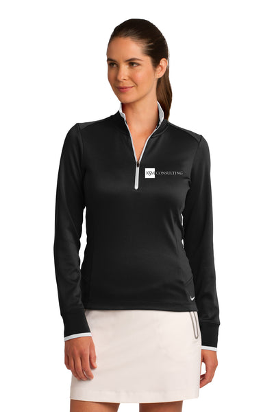 Nike Golf® Ladies Dri-FIT 1/2-Zip Cover-Up