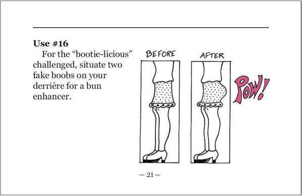 """101 Uses for a Fake B@@b (or two)"" Breast Cancer Humor Book"