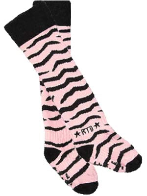 """SECONDS"" Pink Zebra"