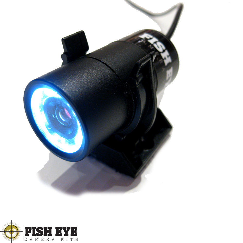 Fish Eye Camera Kits Waterproof Camera With IR Cut Filter And Built in Torch