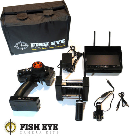 Fish EyE Camera Kits Dual Camera Winch